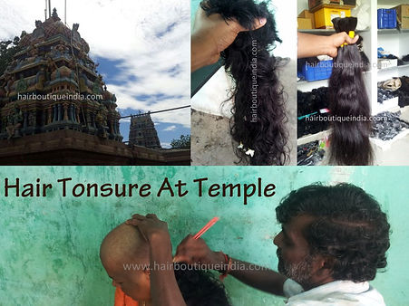Remy and Cuticle Intact Hair Procured from Indian Temples