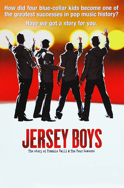Jersey Boys the Musical Broadway Window Card Poster