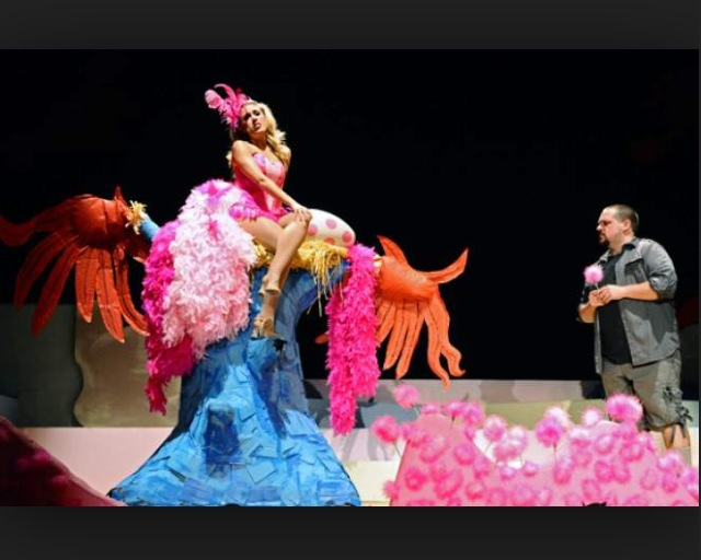 "Mayzie in ""Seussical the Musical"""