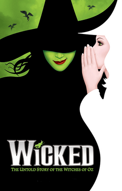 Wicked the Musical - Official Broadway Poster