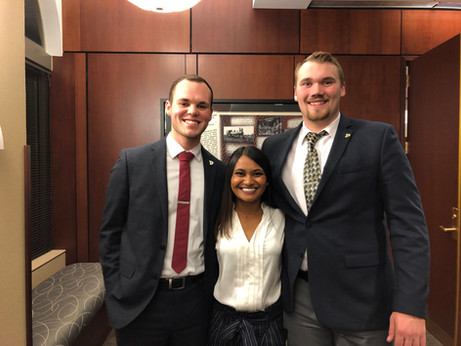 2019 Purdue Foundation Student Board BUILD Dinner