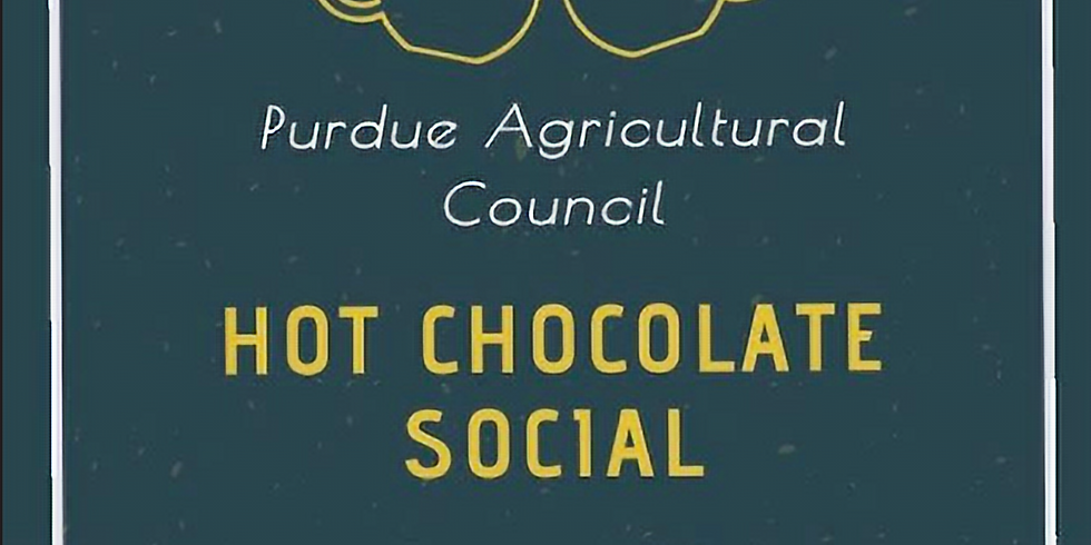 Purdue Agriculture Council Hot Chocolate Social