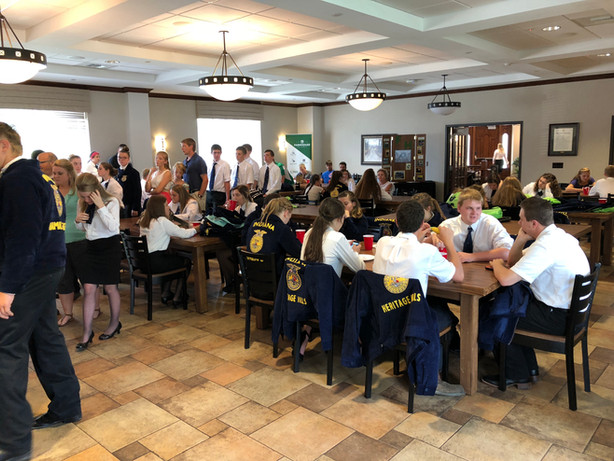 2018 Indiana FFA State Convention Lunch