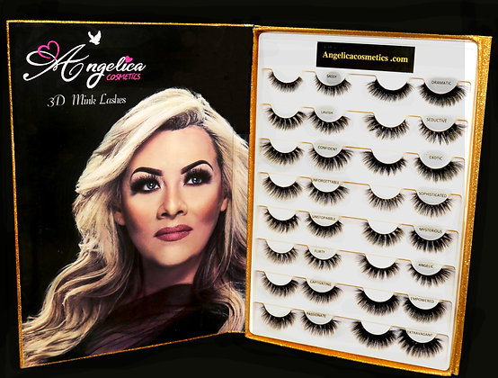 Lash Book Collection with 16 Glamorous Lashes