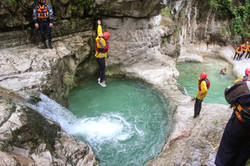 Canyoning Val Noana