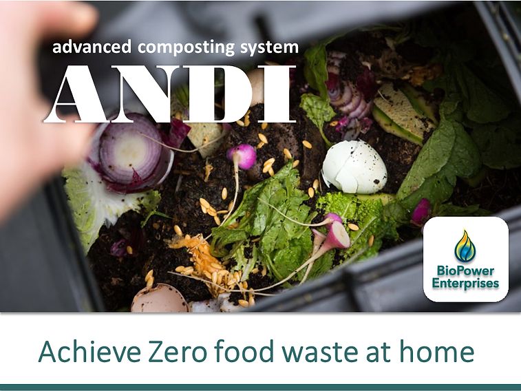 ANDI product achieve zero food waste