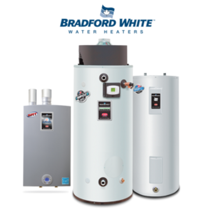 Three Bradford White Water Heaters