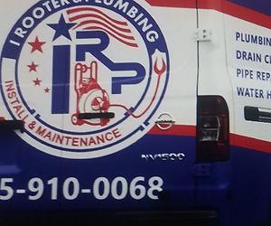 I Rooter & Plumbing Service Van