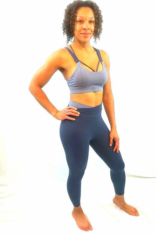High waisted slimming styled leggings