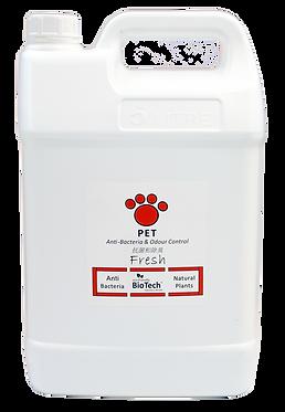 抗菌、消臭劑 ( 貓狗適用 ) 5公升經濟裝