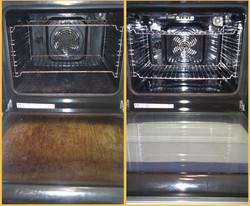 Oily oven