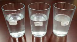 Water quality comparison