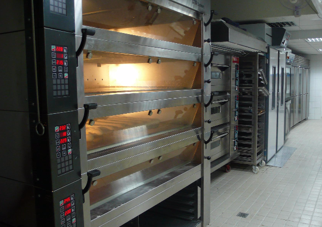 Kitchen, bakery, oven