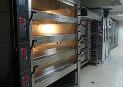 廚房,麵包店,烤箱