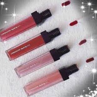 liquid lip gloss SPF 15 / Lipgloss rose
