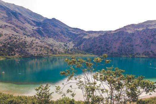 Le lac de Kournas