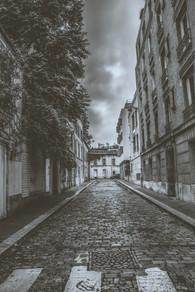 Ruelle de Paris - France