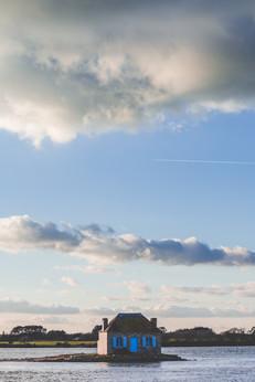 Coucher de soleil sur Saint Cado - Morbihan