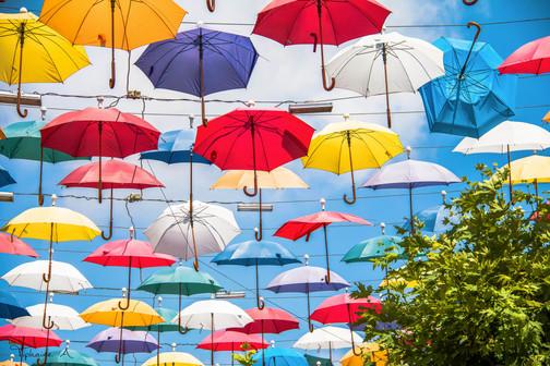 Umbrella Street - Antalya