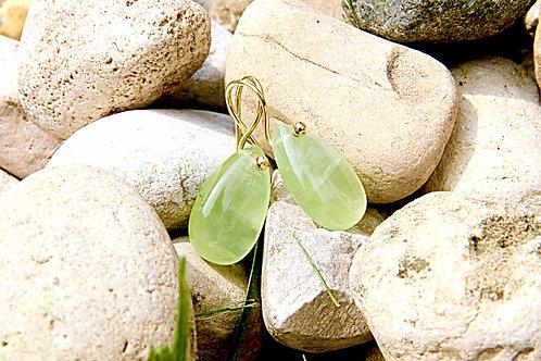Phrenite Earrings