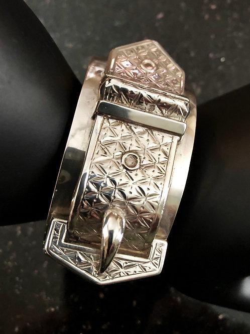 Antique Belt & Buckle Bracelet