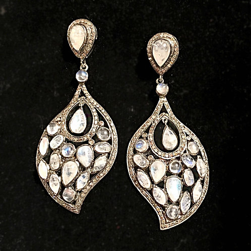 Magnificent Moonstone Earrings