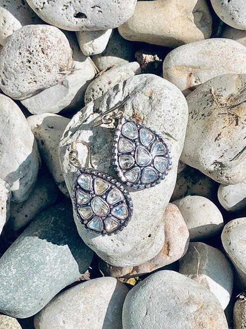 Traditional Diamond Earrings