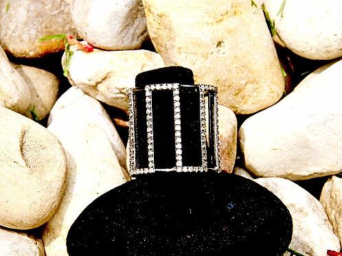 Pavéd Cage Ring