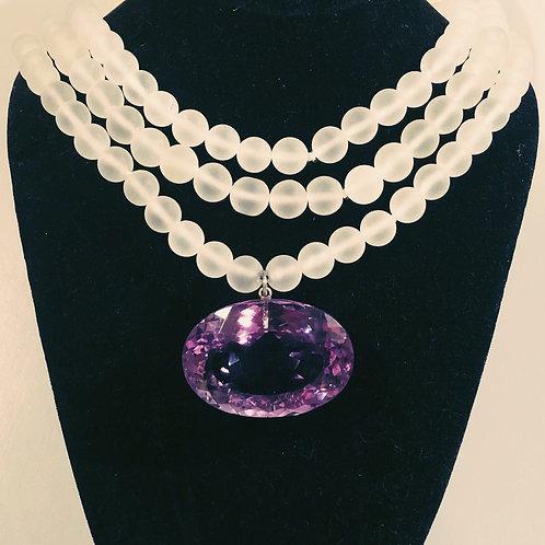 Royal Amethyst Necklace