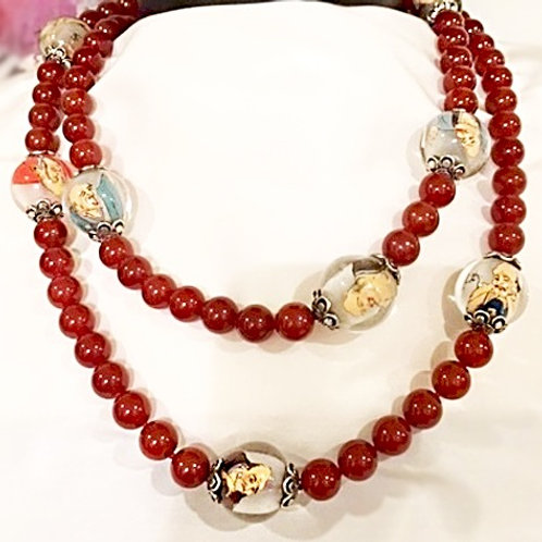Distinctive Carnelian Necklace