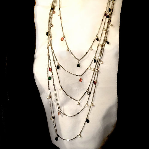 Delicate Bib Necklace