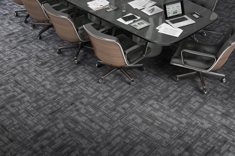 Carpete em placa
