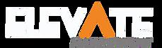 elevate logo selected WHITE WRITTING no