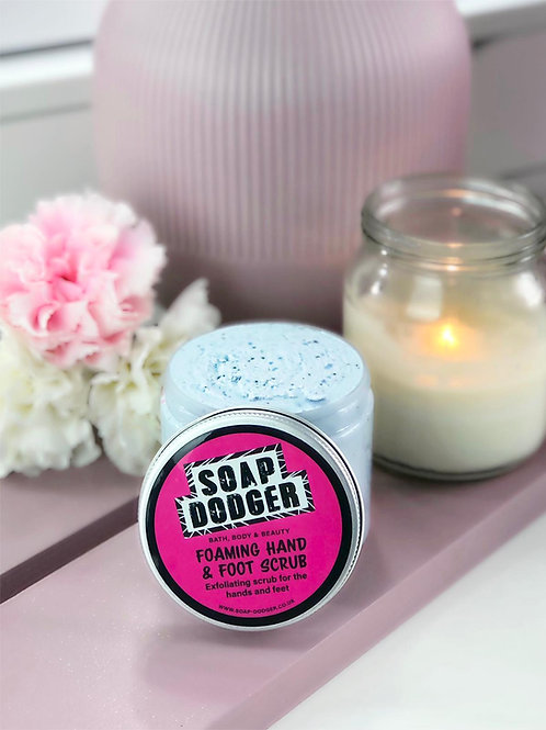 Foaming Hand and Foot Scrub