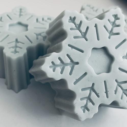 Snowflake Soap - Iris and Musk