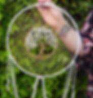 SoVa Love Original Double Ringed Crystal Tree of Life Dream Catcher