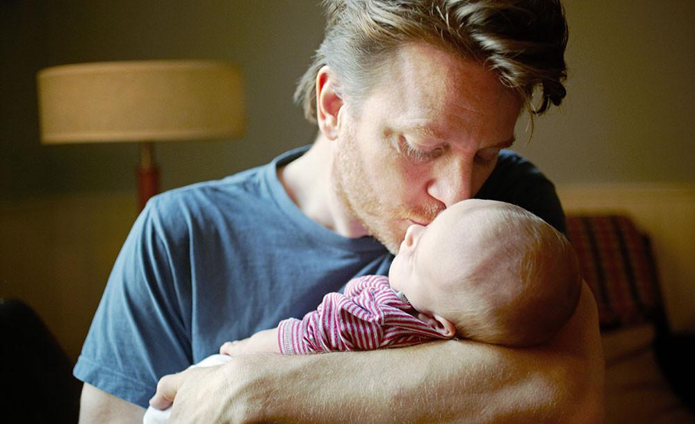 Padre con bambino