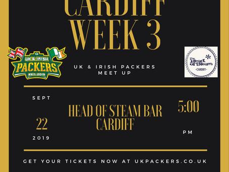 Cardiff Meet Up - Week 3