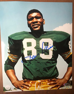 Signed Dave Robinson 8 x 10 Photo with COA