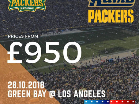 The UK & Irish Packers Tour 2018 is CHEAPER than ever!