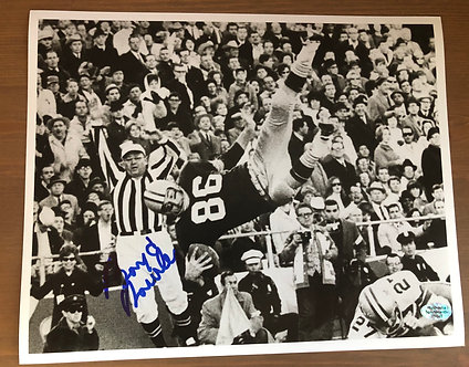 Signed Boyd Dowler 8 x 10 Photo with COA
