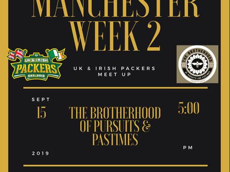 Manchester Meet Up - Week 2