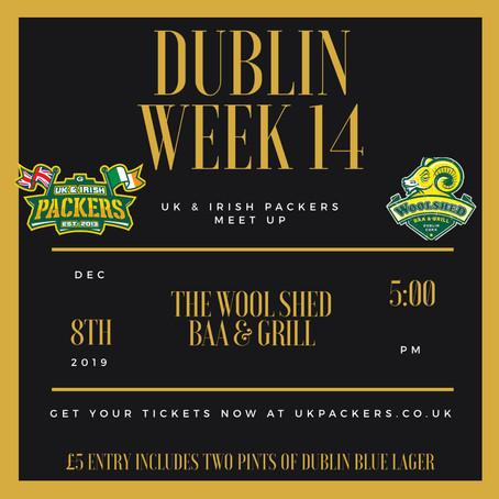 Dublin Meet Up - Week 14