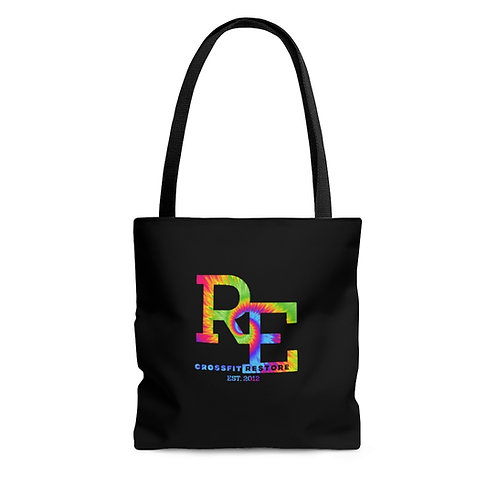 RE tie dye Tote Bag