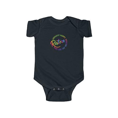 Tie Dye Restore Infant Fine Jersey Bodysuit