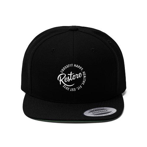 Embroidered Restore -  Flat Bill Hat