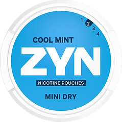 zyn cool mint nicotine pouches