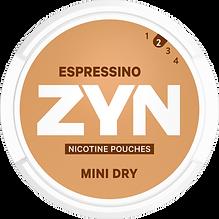 zyn espressino nicotine pouches