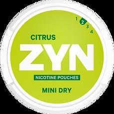 zyn citrus nicotine pouches
