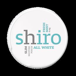 shiro fresh nicotine pouches